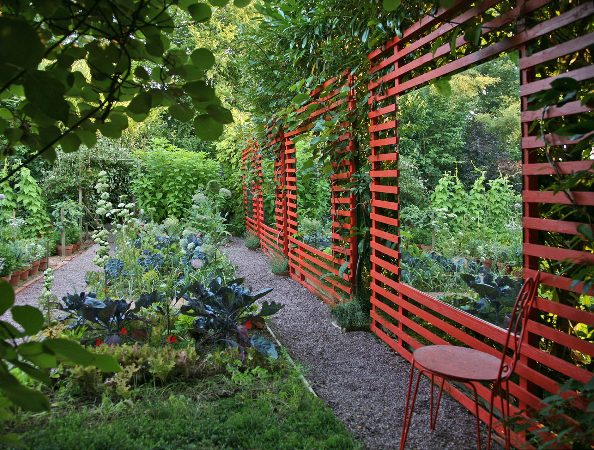 """""""Le jardin. Intérieur à ciel ouvert"""""""