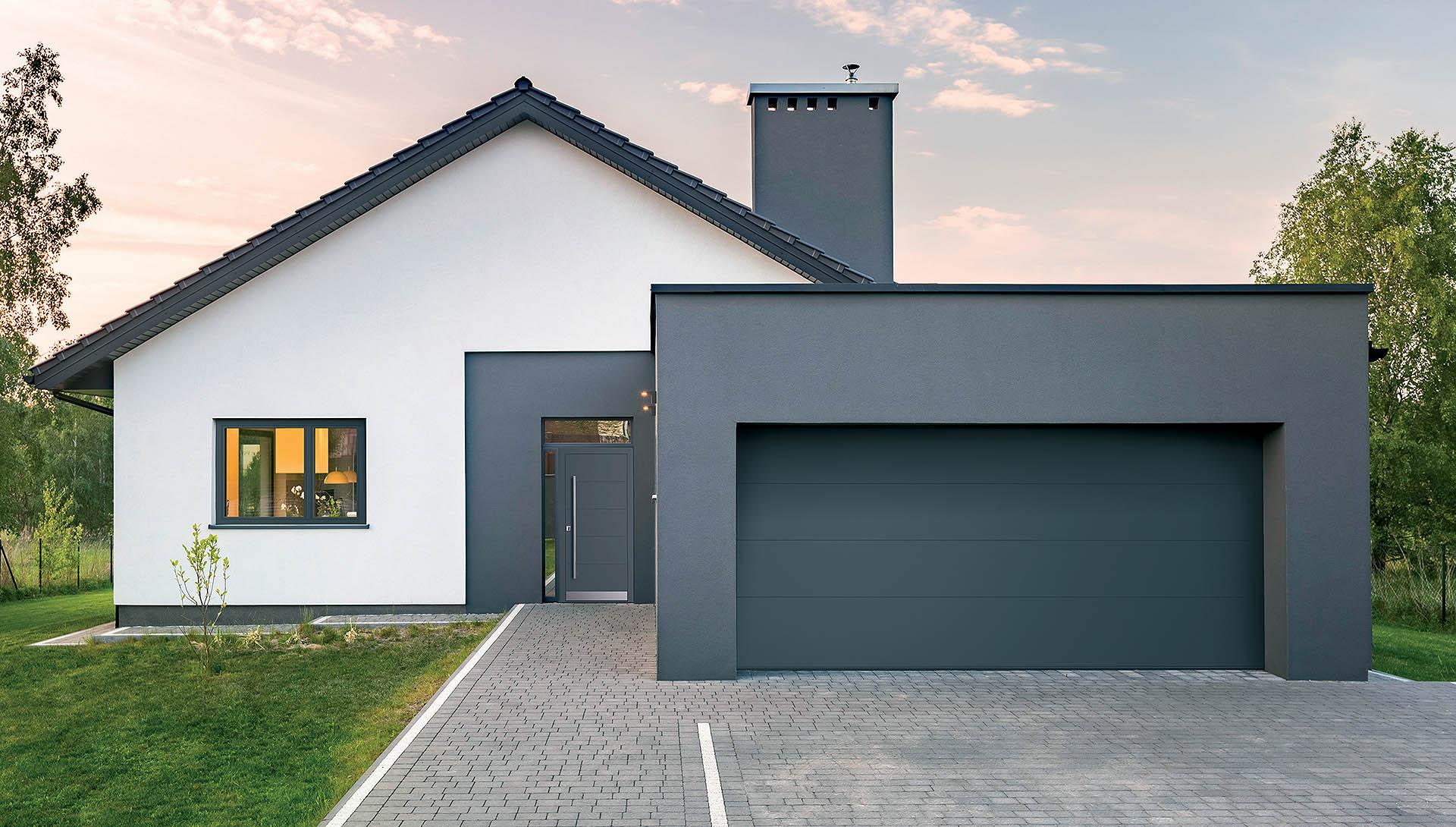 Brama garażowa INNOVIEW ©FAKRO
