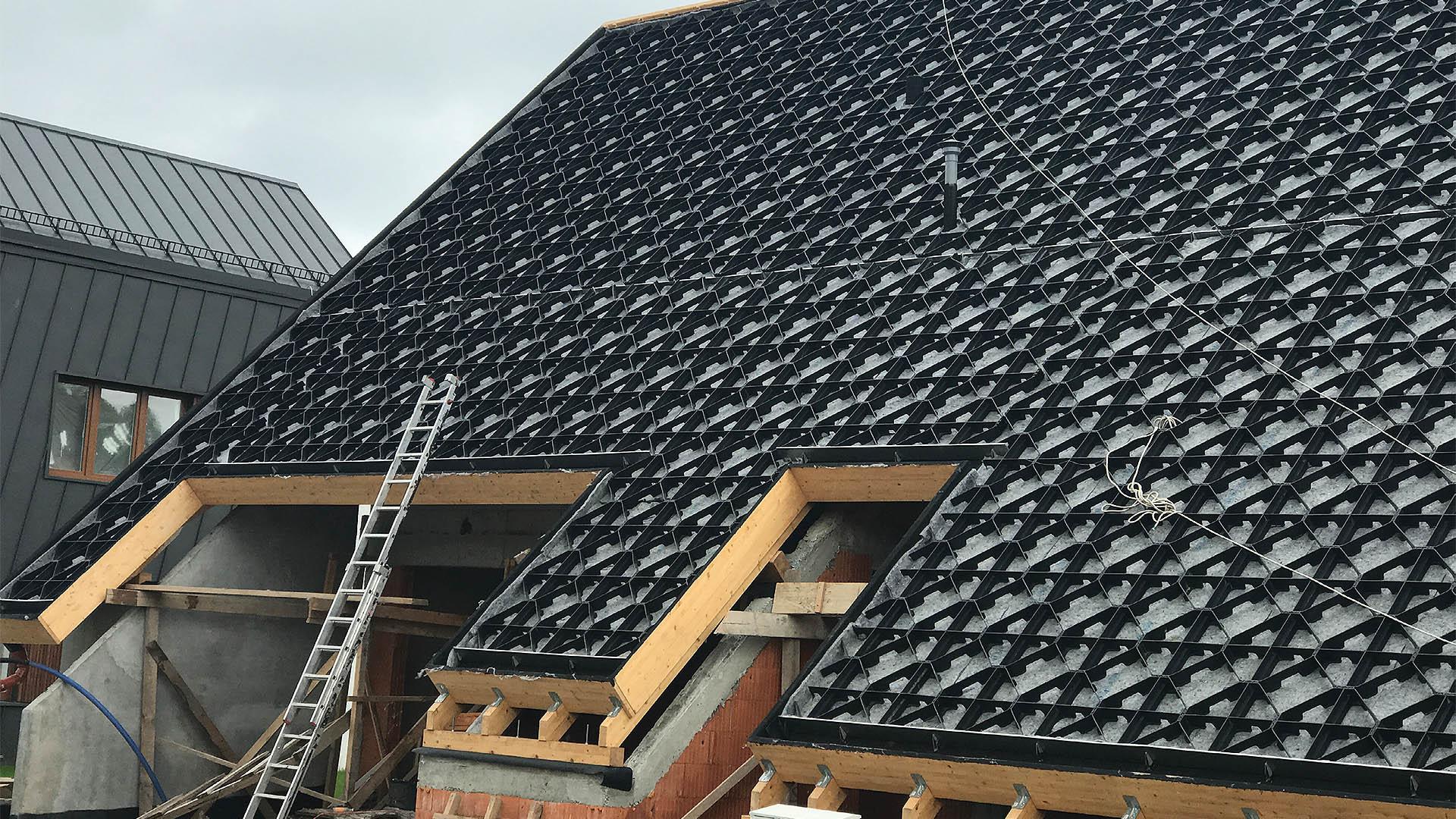 System Georaster na dachy skośne © GCL