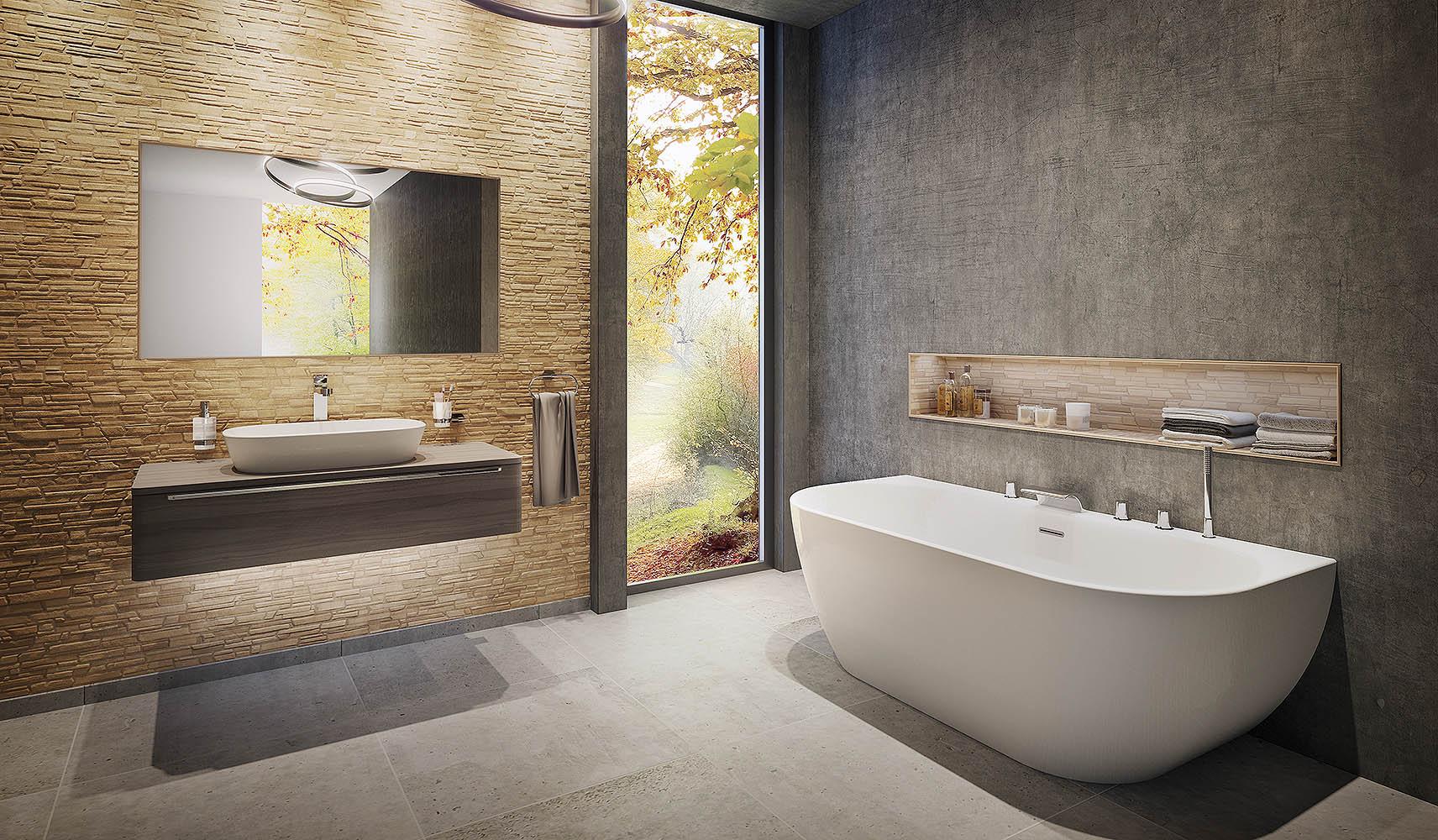Kompleksowe aranżacje łazienek - nowoczesne wzornictwo ifunkcjonalność © RAVAK
