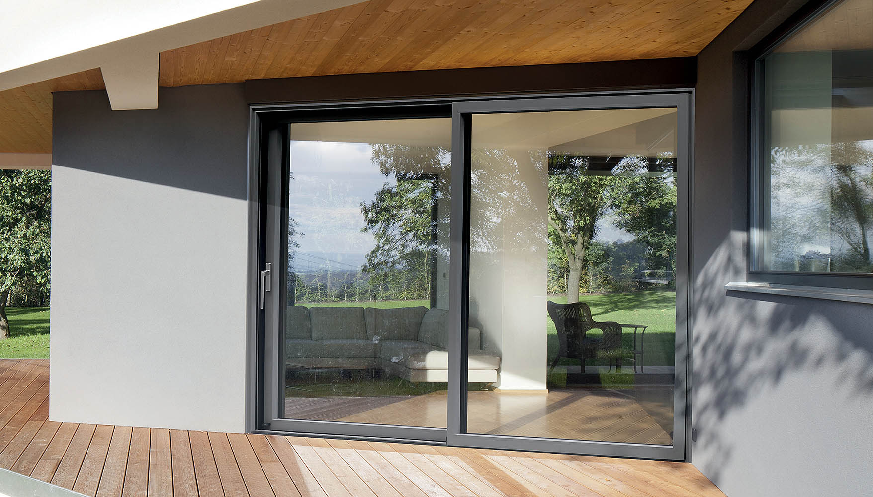 Okna wsystemie Decalu - więcej światła we wnętrzach © DECALU SOLUTIONS