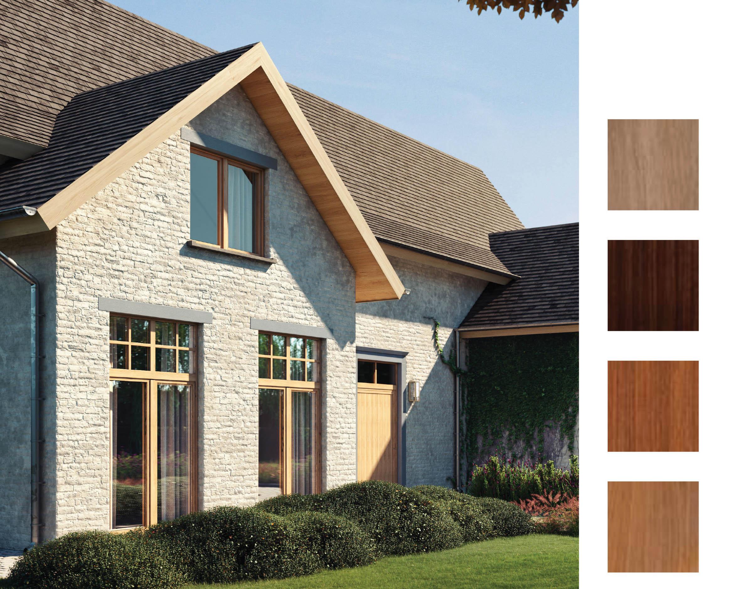 Elegant – okna PVC znane ze swojej wytrzymałości, solidności idoskonałej wydajności © DECEUNINCK